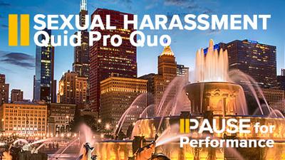 sexual harassment training video Quid Pro Quo