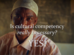 CulturalCompetencyVideo