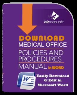 Medical Office Policies Procedures Manual Download
