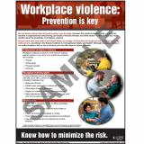 Workplace Violence - Workplace Safety Advisor Poster