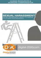 sexual harassment training video for california