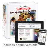 5-Minute Workplace Safety Talks Manual + Online Edition