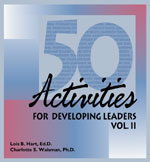 50 Activities for Developing Leaders Vol. II - Electronic Delivery