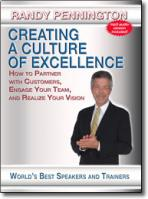 Creating A Culture Of Excellence DVD