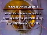 Accident Investigation: A Tool For Effective Prevention (DVD)