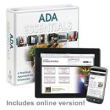 ADA Essentials Manual + Online Edition w/ 1-Year Update Service