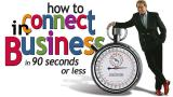 How to Connect in Business...in 90 seconds or less - DVD (Spanish)