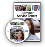 Customer Service Counts - Video On DVD