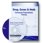 Earthquake Preparedness Training - Drop, Cover & Hold (Spanish) DVD