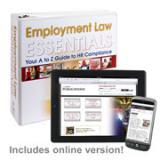 Employment Law Essentials Manual + Online Edition w/ 1-Year Update Service