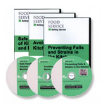 Food Service Safety Set - Spanish (DVD)