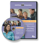 Harassment & Diversity: Respecting Differences — Employee Version Training Video / DVD
