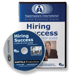 Hiring Success: A Step-By-Step Guide DVD
