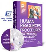 Human Resources Policies Procedures Manual
