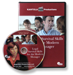Legal Survival Skills for Managers (EEOC, FMLA Guidelines, ADA & More) DVD