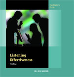 Listening Effectiveness Profile Facilitator's Guide
