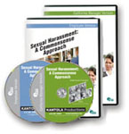 Sexual Harassment: A Commonsense Approach � Employee/CA Manager Combination Package DVDs