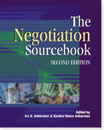 The Negotiation Sourcebook, 2nd Edition