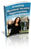 Creating Residual Income in Real Estate - eBooks