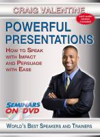 Powerful Presentations (DVD)