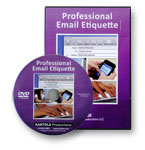 Professional Email Etiquette Trainng Video / DVD