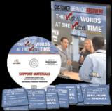 The Right Words at the Right Time... Customer Service Recovery for Government (DVD)