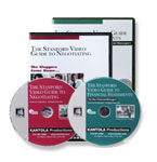 The Stanford Video Guide to Negotiating/Financial Statements Combination Package  - DVDs