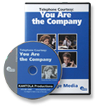 Telephone Courtesy: You Are the Company - DVD
