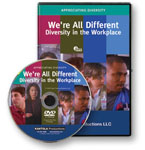 We're All Different: Diversity in the Workplace - DVD