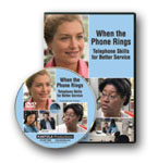 When the Phone Rings: Telephone Skills Training Video / DVD